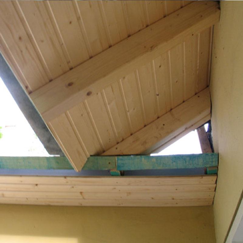 Dachdecker Holzkonstruktion