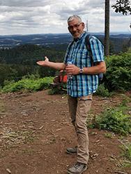 Inhaber Michael Eckhardt, Dachdecker-Altgeselle